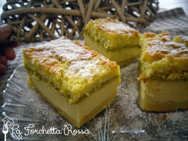 Amato La Forchetta Rossa: Torta magica al pistacchio con farina di riso DX23