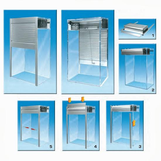 Persiana aluminio mueble cocina tu cocina y ba o - Armarios de cocina en kit ...