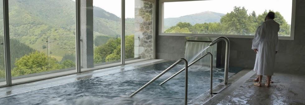 Spa del Hotel Arantxa en Navarra