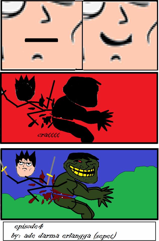 Singeki no Troll Manga Meme Episode 1-5 Sub Indo