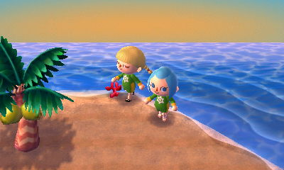 New Leaf Island Exclusive Items