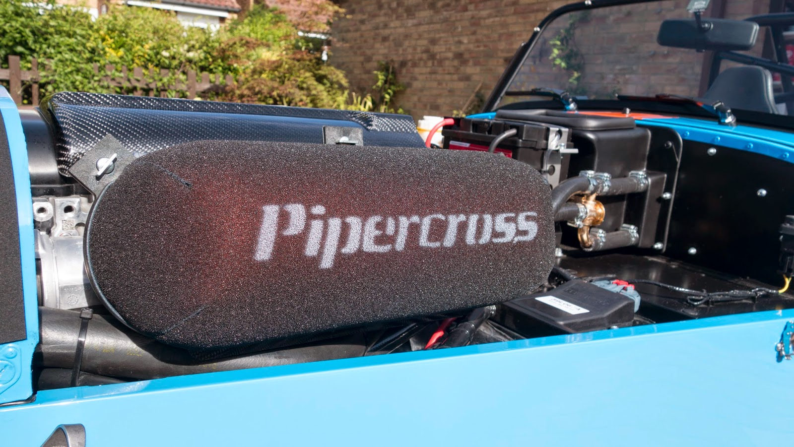 R500 with piper cross air filter