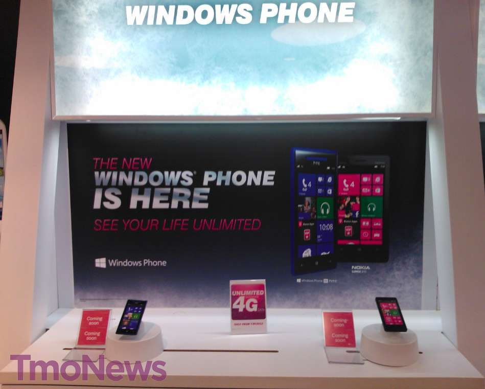 WINDOWS PHONE 8 T MOBILE STORES DUMMY UNITS TMONEWS