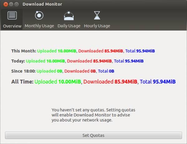 Download Monitor for Ubuntu /Linux
