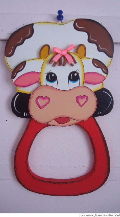 Diseño de vacas en foami - Imagui