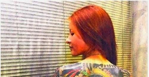 Gambar Anak Perempuan Ketua Kumpulan Gangster Di Jepun Yakuza