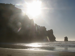 Morro Strand State Beach is a mile and a half stretch of pristine, swimming and surfing beach
