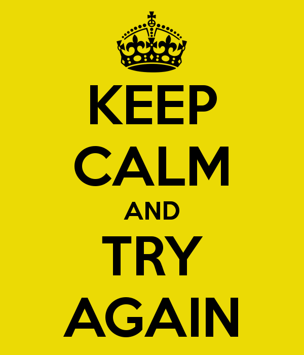 Image result for try it again
