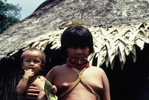 Artesanato Halloween Eva ~ LAS CARICIAS Publican fotos de indios yanomami aislados y amenazados en Brasil