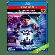 Ready Player One: Comienza el juego (2018) 4K UHD Audio Dual Latino-Ingles