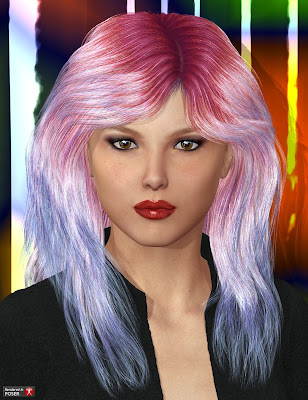 DAZ 3D - Marja Hair realistic
