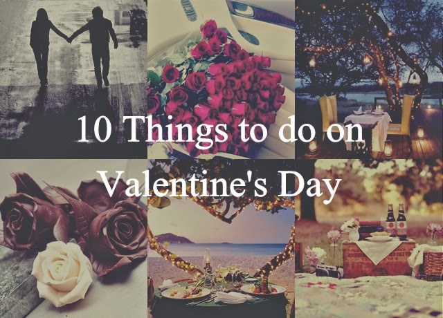 Romantic stuff to do on valentines day