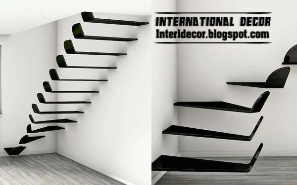 Interior Stairs, Flying Staircase, Modern Interior Stairs 2013