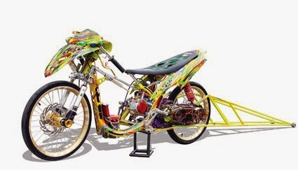 Oprek Modifikasi Yamaha Mio Untuk Racing