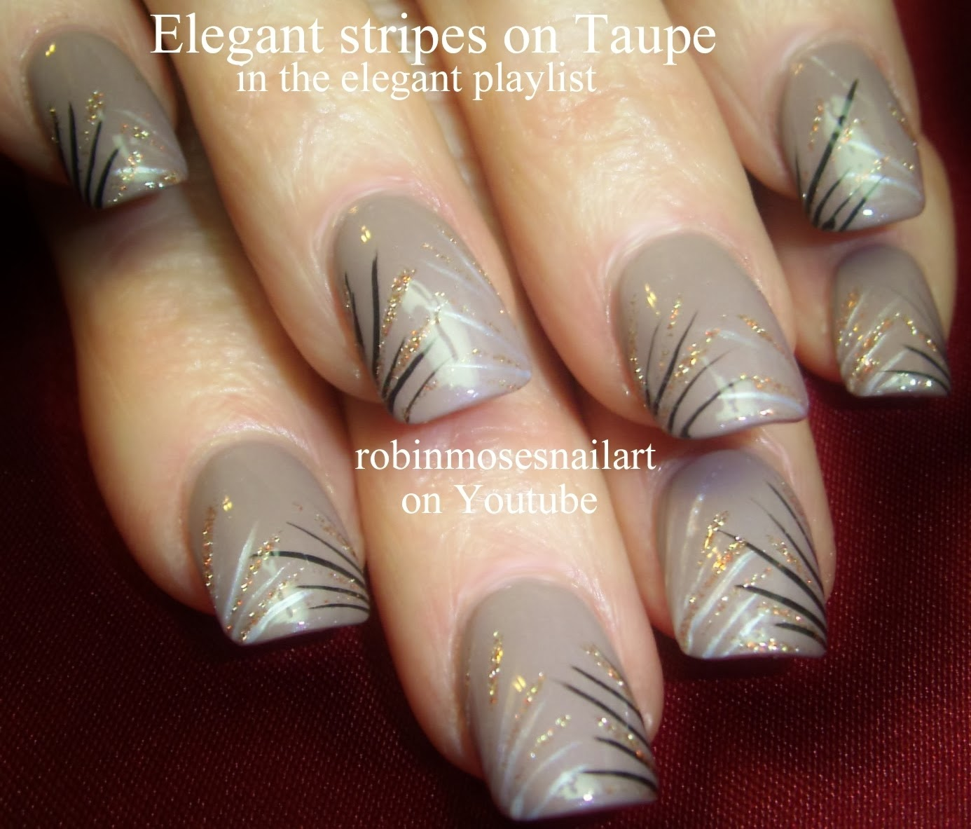 Elegant Fall Nail Art