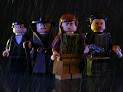 Blade Runner Lego Minifigures; The Minecraft Lego set