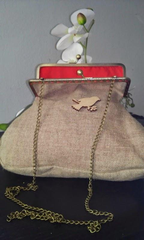 Bolso tela de saco