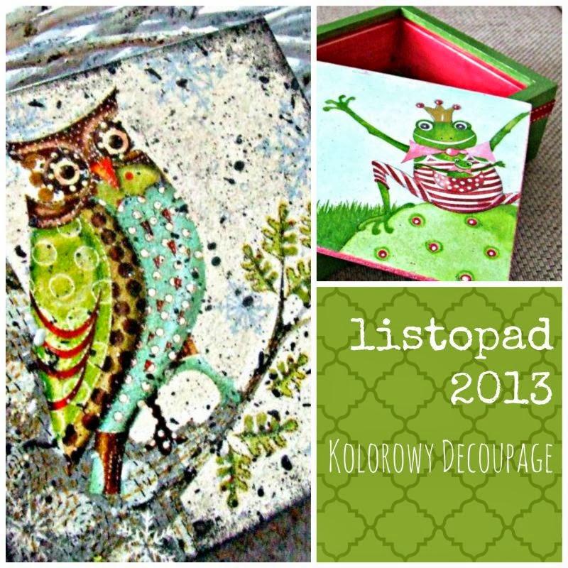 Blog decoupage inspiracje 2013 Eco Manufaktura