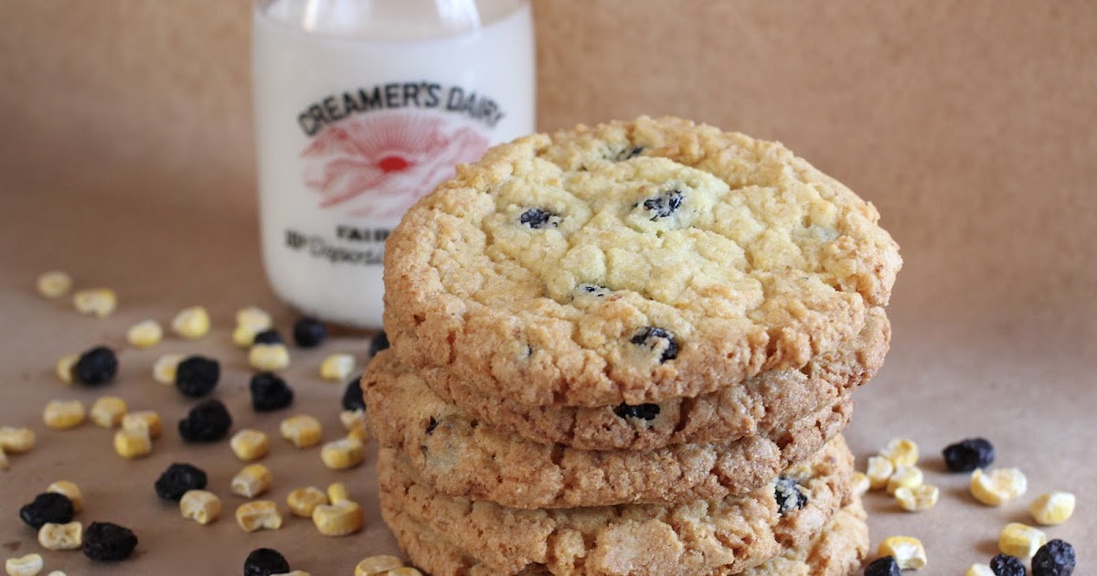Arctic Garden Studio Blueberry Corn Cookies