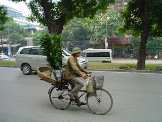 Vietnamese hat for men. Hanoi Vietnam