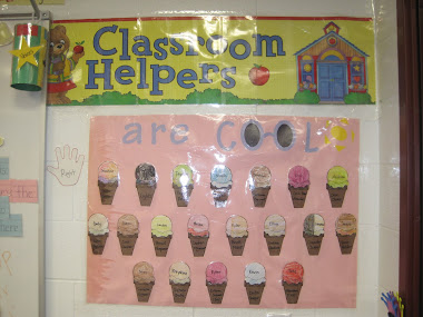 Classroom Helper chart and voice monitor