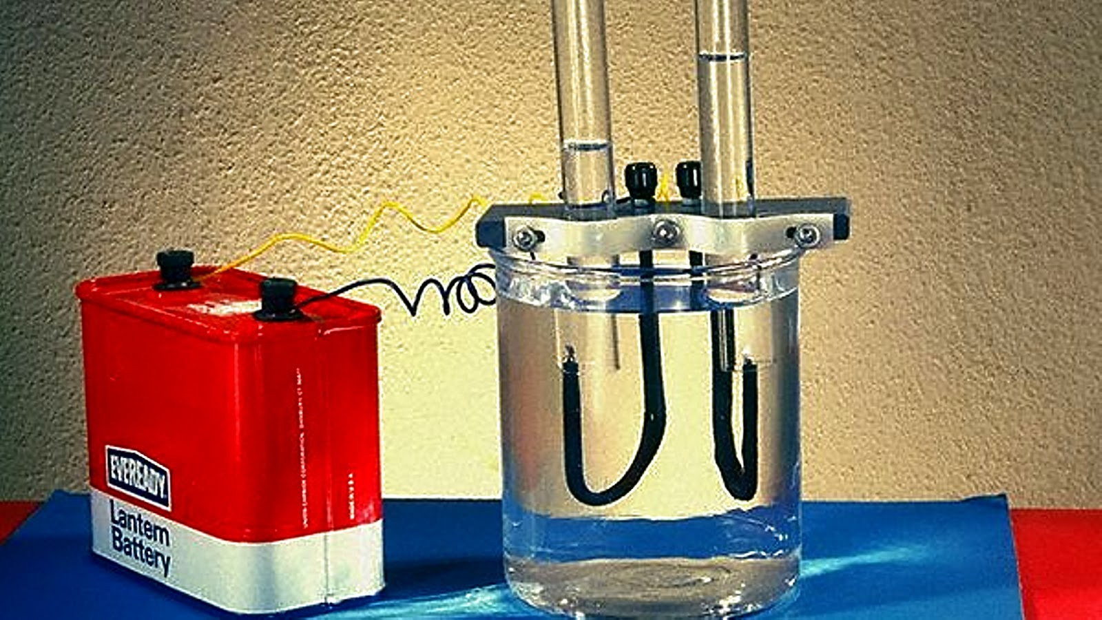 Производства водорода в домашних условиях