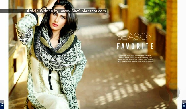 Maheen Hussain Dresses for Winter-2014