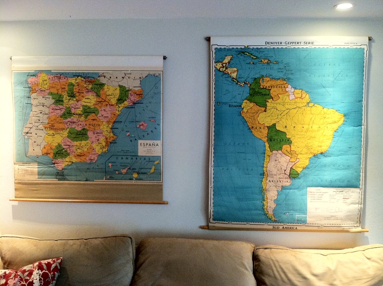 Tamerlane\'s Thoughts: Old school maps