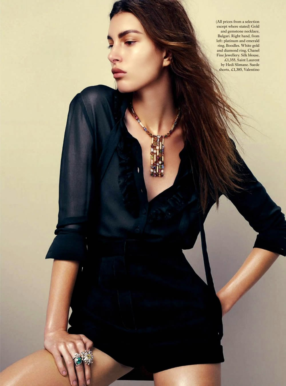 Kate King by David Slijper for Harper's Bazaar UK, March 2014