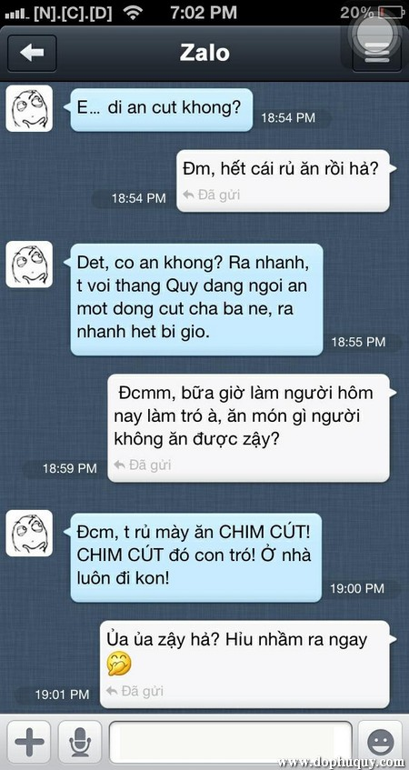 Nhng cuc ni chuyn - Chat vui nhn