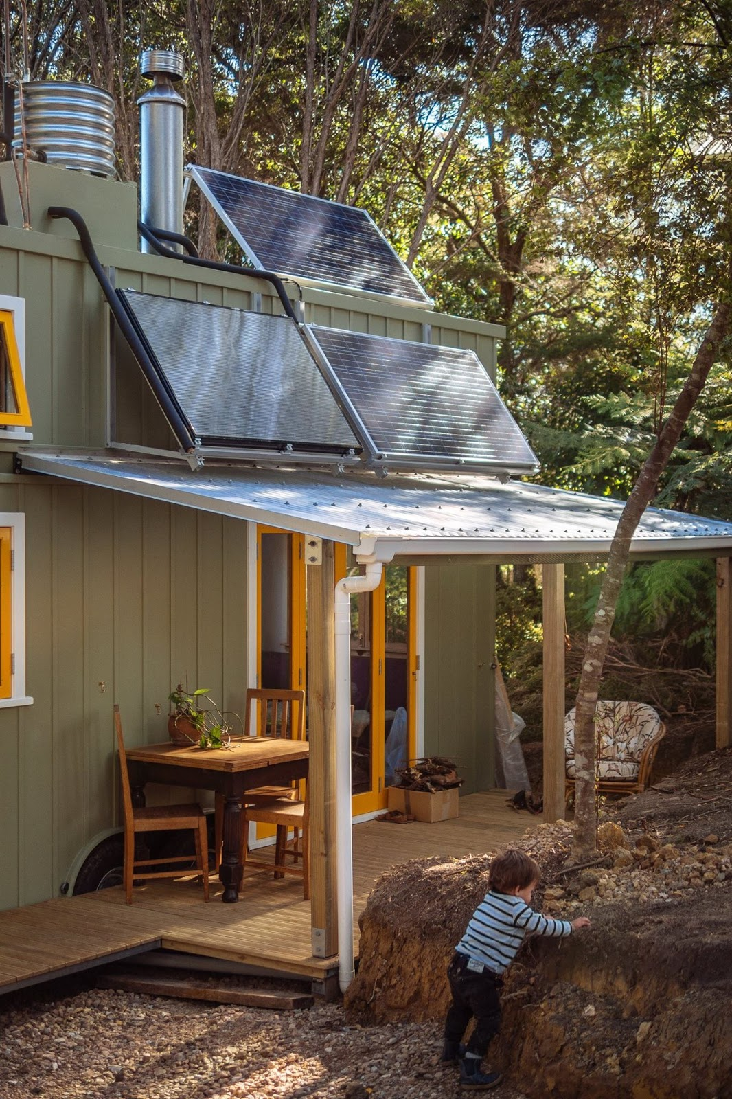 NZ Tiny House that is Build like a Boat Wee Make Change