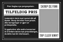 KJØP MED TILFELDIG PRIS<br><br>