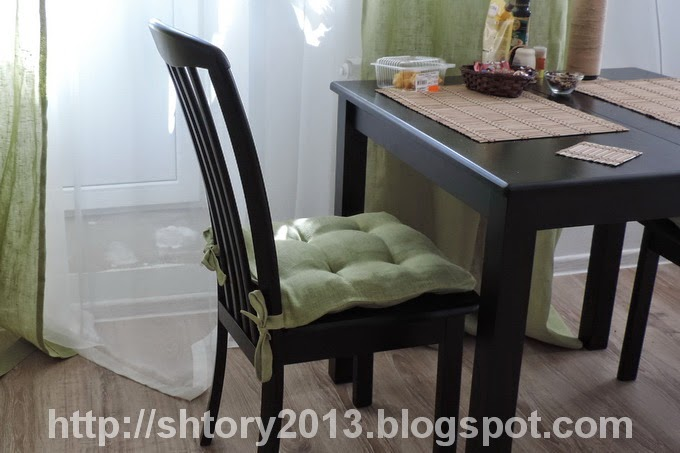 Своими руками подушки на стул