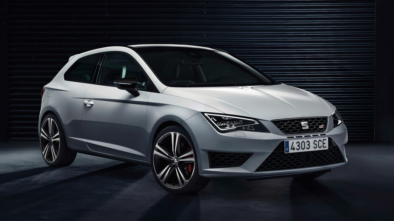 SEAT Leon Cupra 280 side front