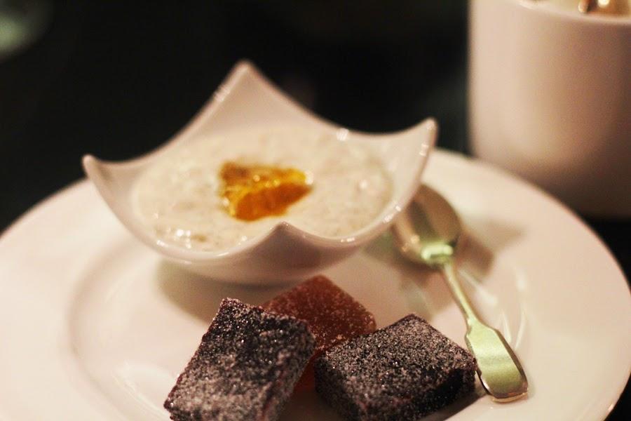 tapioca pudding vegan dinner food