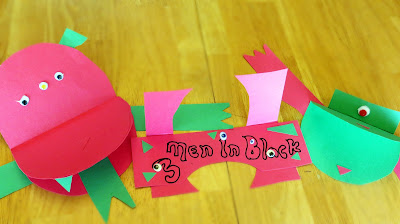 Men In Black 3 Preschool Craft