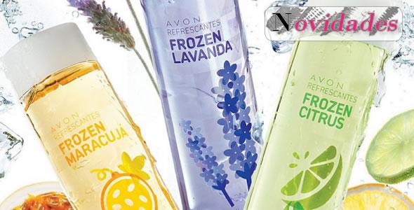 Novas Refrescantes Frozen