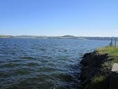 Le lac de Naussac  en lozere
