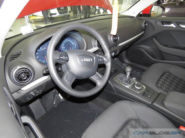 Audi A3 Sedan 1.4 Flex 2016 - interior - painel