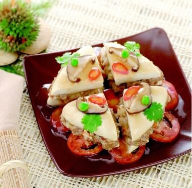 สลัดเต้าหู้ (Salad Tofu)