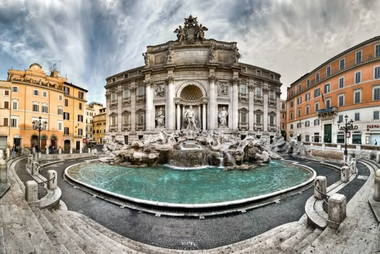 15. Trevi Fountain, Rome - 29 Amazing Places in Italy