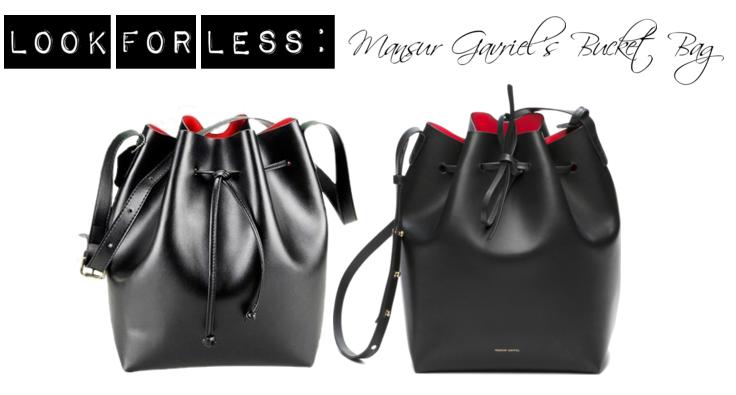 Designer Bucket Bag for less
