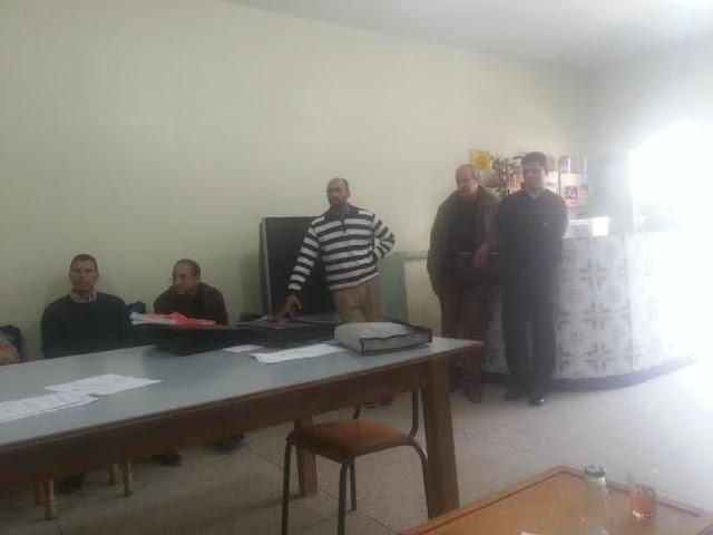 مكناس: نقابتان في وقفة تضامنية احتجاجا على الاعتداء الذي تعرض له ناظر ثانوية مولاي يوسف التأهيلية