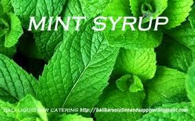 MINT SYRUP SUPPLIER