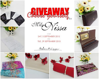 Giveaway : Choose yourself by Mdmnissa