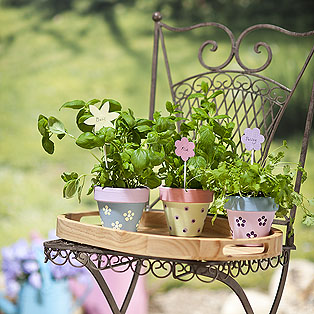 Painted+PLant+Pots Easter Shopping and Decoration Syling From Selina Lake
