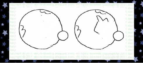 how to draw planet earth