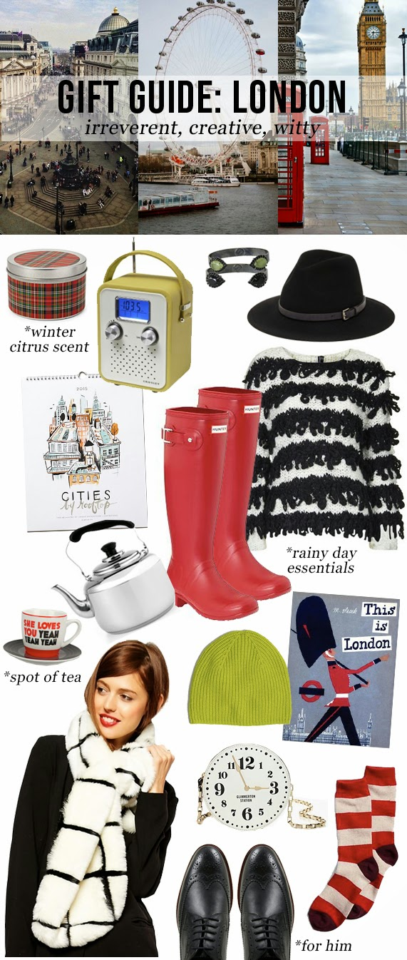 The Steele Maiden: Holiday Gift Guide - London Style