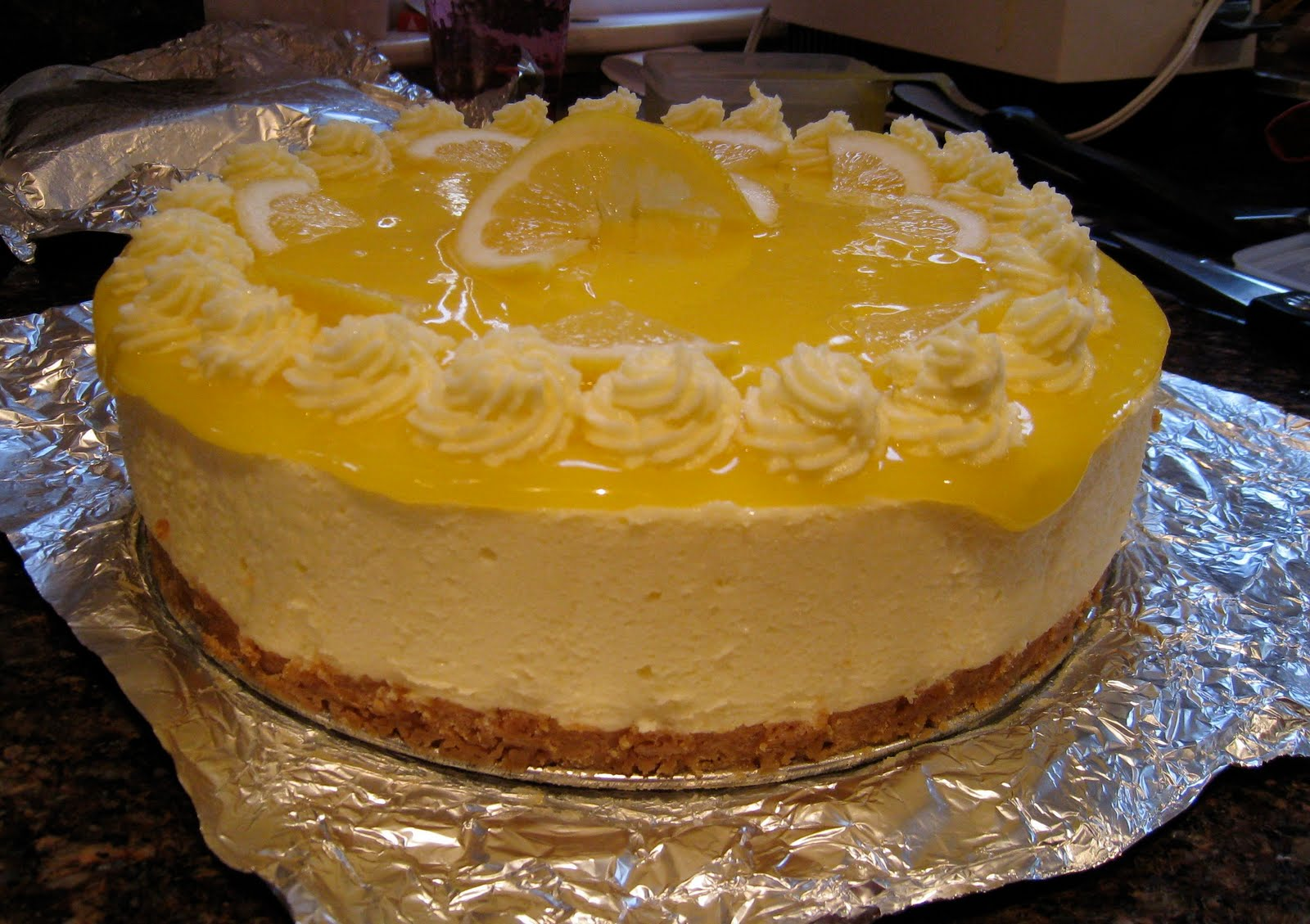 ... Cake: 30 Cakes - 2 Friends - 52 Weeks: Cake #16 Lemon Curd Mousse Cake