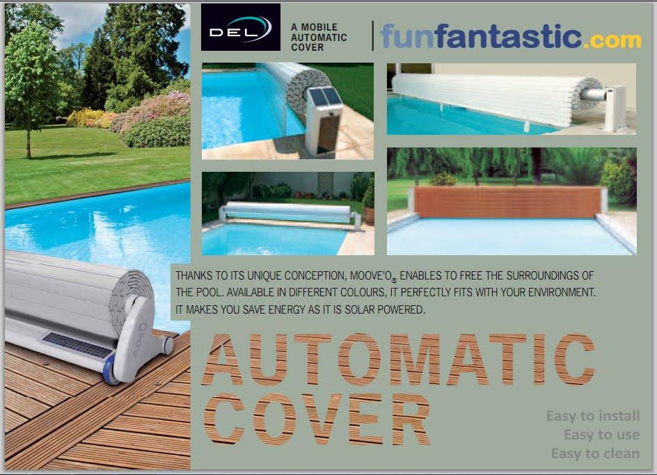 Del Automatic Swimming Pool Safety Covers Fun Fantastic